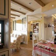 家装实木地板展示