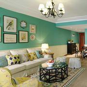 家装客厅照片墙欣赏