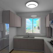 精美的现代实惠欧式大户型厨柜装修效果图