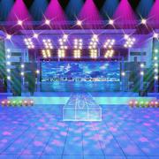 舞台设计精致图