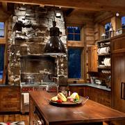 美式自然厨房欣赏