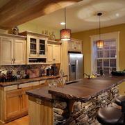 精美厨房实木橱柜