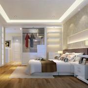 卧室白色简约衣柜