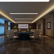 唯美的会议室地板设计