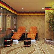 足疗店背景墙设计