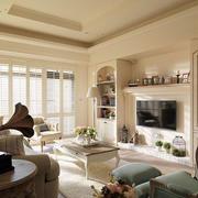 家庭客厅组合电视柜欣赏