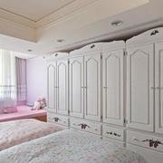 田园小女生卧室衣柜