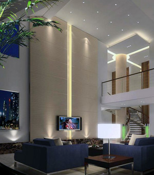 2016欧式别墅室内吊顶装潢设计装修效果图