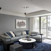 家庭客厅舒适沙发欣赏