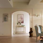 家庭走廊拱形门展示