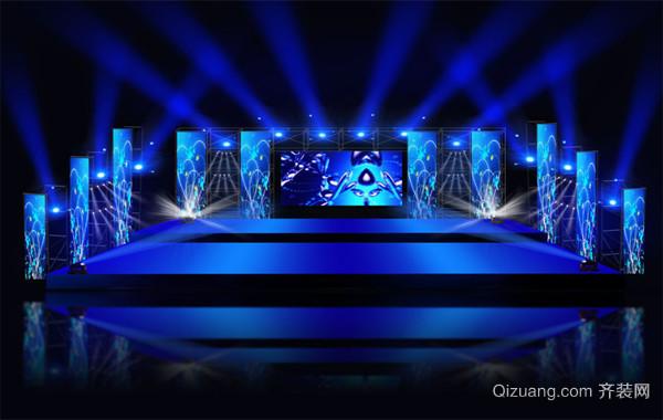 2016唯美绚丽的现代舞台设计灯光效果图