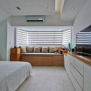 家装卧室飘窗展示