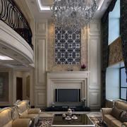 现代室内背景墙整体图