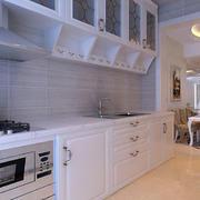 白色唯美厨房欣赏