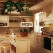 田园厨房橱柜欣赏