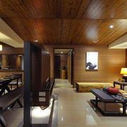 家庭简单瓷砖地板