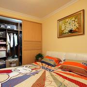 卧室简单壁柜欣赏