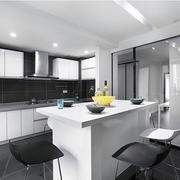 黑白色厨房展示