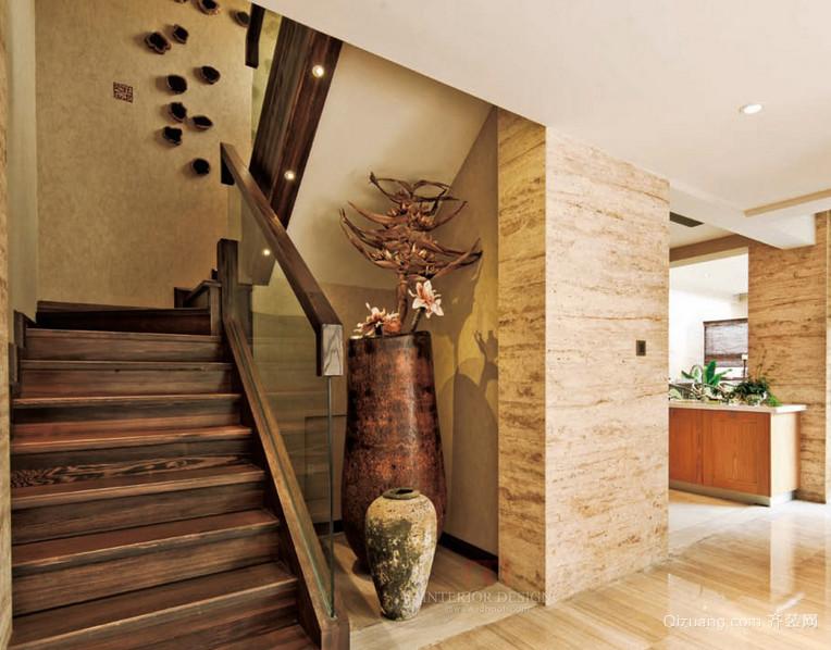 大方豪华的大户型欧式室内楼梯装修效果图