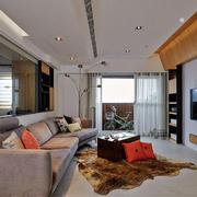 家装客厅舒适大沙发