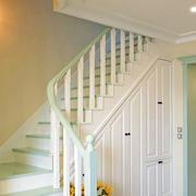 清新自然的楼梯