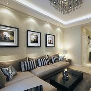 唯美的客厅背景墙
