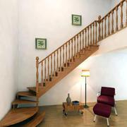 精致小型的楼梯