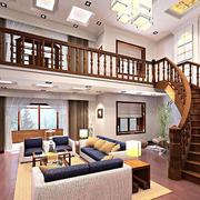 实木自然楼梯展示