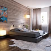 2016小户型装修风格欧式卧室效果图实例