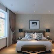 现代卧室装修整体图