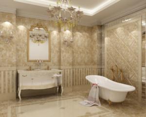 70平米欧式小卫生间装修效果图实例欣赏