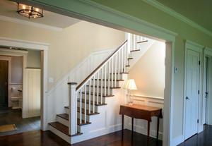 朴素宜家小复式楼楼梯设计装修效果图