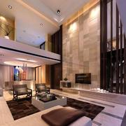 客厅现代电视背景墙