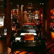 典雅复古酒吧展示