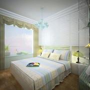 现代卧室简单装饰