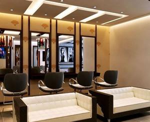 40平米现代小型理发店装修图