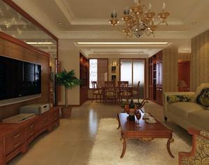 100平米大户型欧式客厅储物柜装修效果图鉴赏
