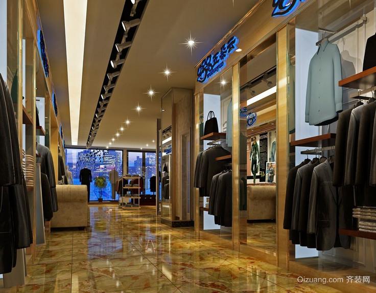 2016精致独特的现代小服装店装修效果图实例