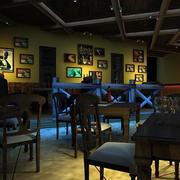 酒吧个性照片墙欣赏