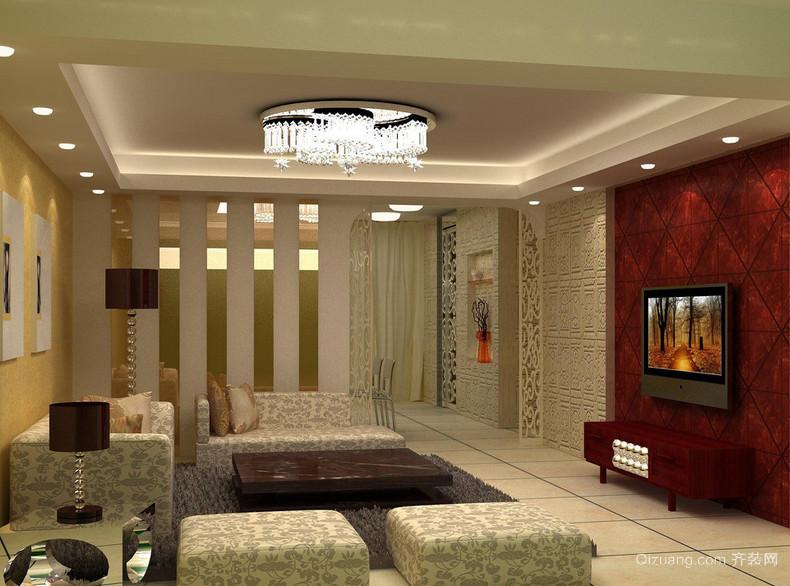 2016大户型欧式家装室内吊顶设计装修效果图