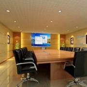 2016精美的现代经典会议室吊顶装修效果图