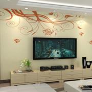 精美现代化电视墙