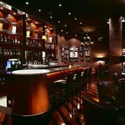 酒吧吧台酒柜设计