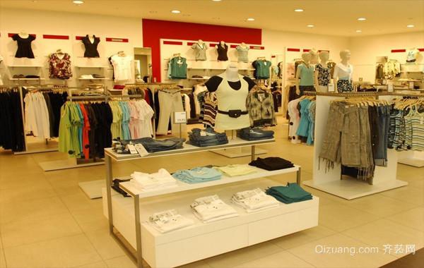 简约60平米服装店装修设计效果图