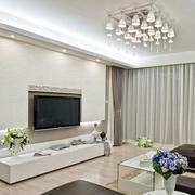 大气优雅的电视墙