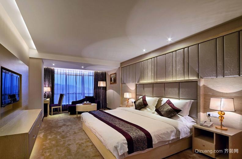 2016欧式唯美的大户型两房一厅卧室装修效果图鉴赏