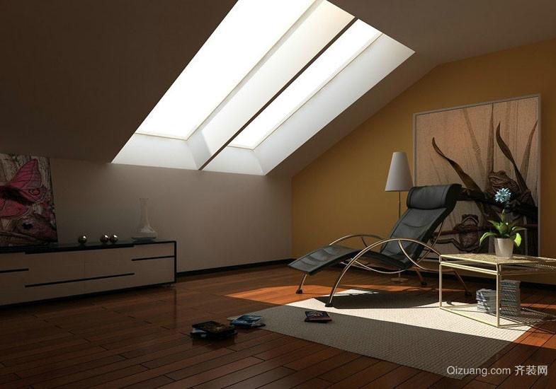 时尚简约30平米阁楼天窗装修效果图大全