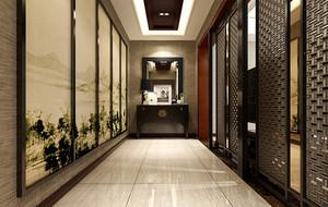 千万豪华别墅中式装修设计效果图