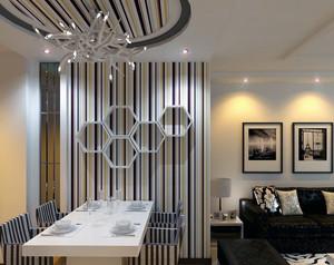 2016大户型简欧风格餐厅背景墙装修效果图鉴赏