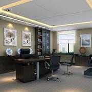 完美的办公室整体图